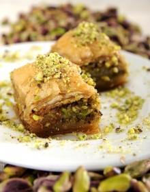 Pistashio Baklava Holy Falafel